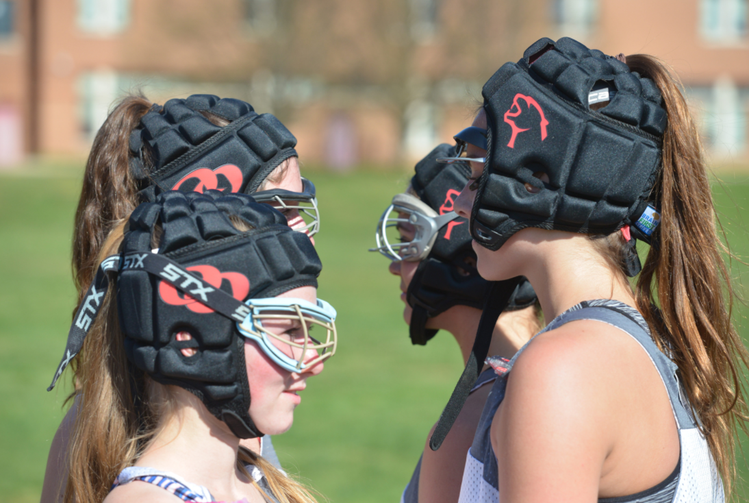 girls lacrosse headgear