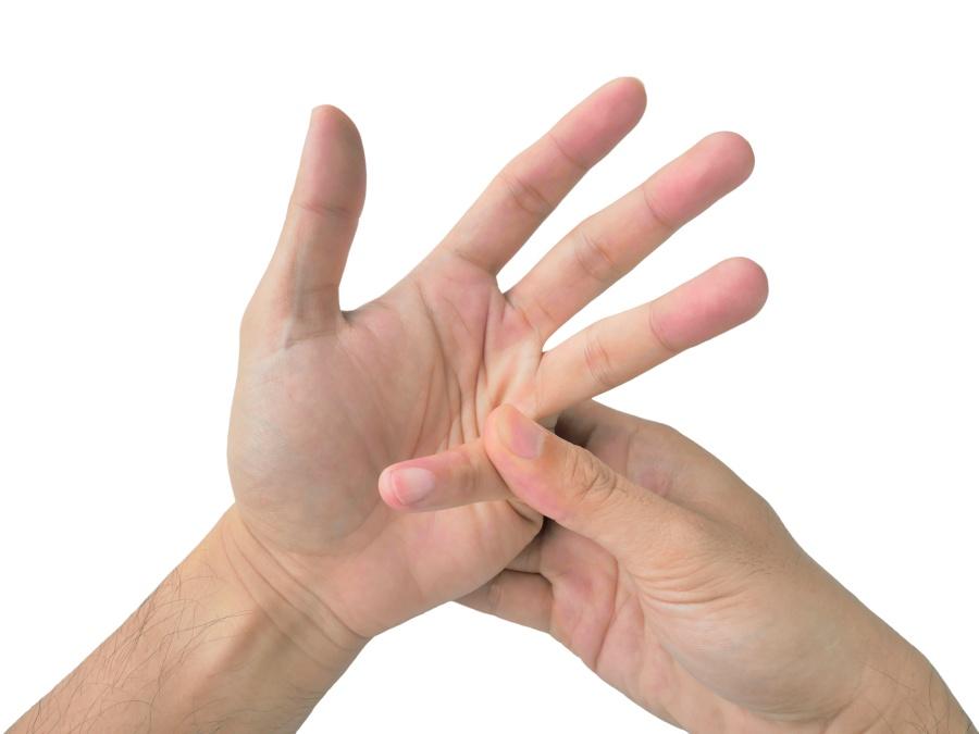 Finger knuckle cracking