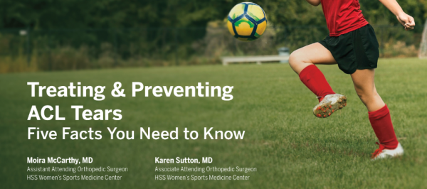 ACL injuries Dr. Karen Sutton